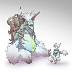 Yeticorn by BrotherBaston on DeviantArt