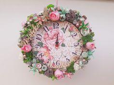 #noridekor #egyedi #dekoráció #óra Floral Wreath, Wreaths, Home Decor, Floral Crown, Decoration Home, Door Wreaths, Room Decor, Deco Mesh Wreaths, Home Interior Design