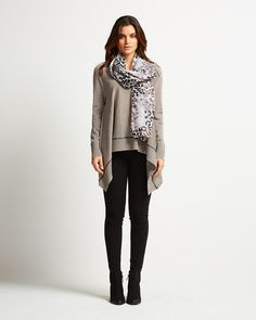 An adorable top in merino wool - perfect for layering!