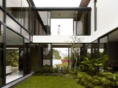 exterior Residence Berrima Large Family Home Encouraging Social Interaction in Singapore