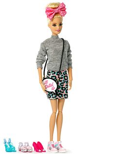 Barbie Has a New Designer Shoe Collaboration (and the Coolest Sneaker Selection Ever) http://stylenews.peoplestylewatch.com/2015/08/21/barbie-sophia-webster-new-shoe-collaboration/