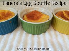 Looking for a copycat Panera egg souffle recipe? I don't travel all that much, but Panera is one place I might visit if it's necessary to eat out...