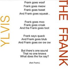 Frank - the shapeshifter of the Heroes of Olympus series. What does the fox say? I dunno, ask Frank.
