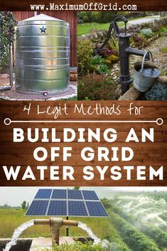 Prepper Off The Grid Water Purification System List - Clear-Cut Methods Of Getting Drinking Water - Updated - Prep Step Survival Life Hacks, Survival Prepping, Emergency Preparedness, Survival Skills, Survival Gear, Survival Quotes, Urban Survival, Survival Shelter, Water Survival