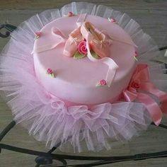 Torta para niña bailarina