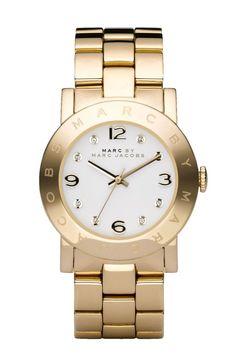 Montre pour femme : MARC BY MARC JACOBS Amy Crystal Bracelet Watch 36mm | Nordstrom