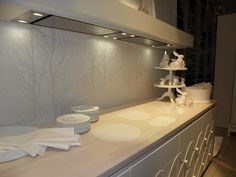 White i-Cooking induction Eurocucina 2012 in Milan by abk-innovent.com