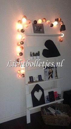 lichtbolletjes#fancy lights#cotton balls#sfeer