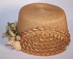 1870s Straw Bonnet