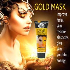 Face Care 24K golden Mask Anti Wrinkle Anti aging facial mask  Whitening Face Masks skin care face lifting firming S127