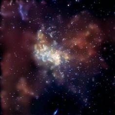 Las galaxias albergan agujeros negros supermasivos con forma de neumático