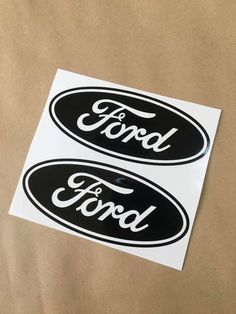 2X BLACK Ford Emblem Vinyl Decal Sticker for Truck Racing GT Mustang F150 F250 Black Ford Emblem, Cheap Ink, Vinyl Decals, Mustang, Trucks, Prints, Accessories, Ebay, Mustangs