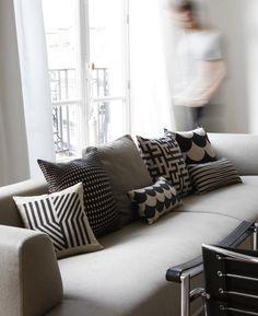 Rouge du Rhin Cushions from Paltane