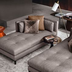 Part of the popular Andersen seating system, the Minotti Andersen Paolina Chaise-Longue's clean lines and considered design makes it perfect for curating exquisite interior compositions with multiple elements.  Available from Minotti London.  #Minotti #MinottiLondon #Design #Furniture #Interiors #InteriorDesign #Styling #Style #Stylist #InteriorStylist #Italy #Meda #Milan #London #ItalianDesign #Luxury #Beauty #Fashion #Instagood #instadaily #architecture #Minotti15 #designlovers…