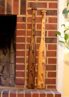 Baseball Bat Coat And Hat Rack