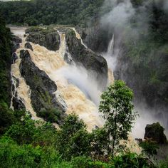 #OldPhotos #Waterfall #BarronFalls #Kuranda #Cairns #Queensland #Australia #Y2011