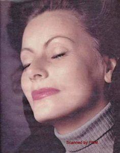 Rare photo of greta garbo