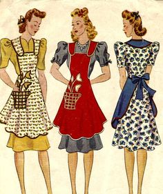 Aprons For Women Patterns | My happy sewing place...: Aprons, Aprons, Aprons