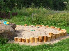 kulmakunnan hienoin hiekkalaatikko :)