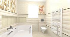 Bathroom Tile Designs, Coraline, Corner Bathtub, Corner Tub