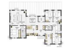 House Layouts, Amazing Architecture, House Floor Plans, Planer, Beautiful Homes, Sweet Home, House Design, Flooring, How To Plan