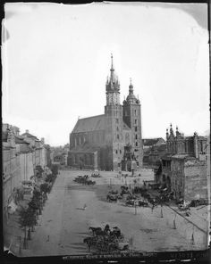Rynek. Ignacy Krieger. Germany And Prussia, Krakow Poland, Old Photos, Places Ive Been, Old Things, Architecture, Outdoor, Painting, Photographs