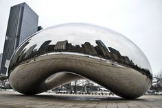 The Bean, Chicago, IL--would love to see The Bean (and the rest of the Windy City) again sometime soon.