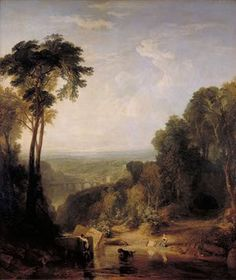 Turner and the Masters: Crossing the Brook (1815) by JMW Turner