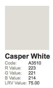 dulux casper white