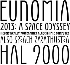 Eunomia -  CC0 space age display font
