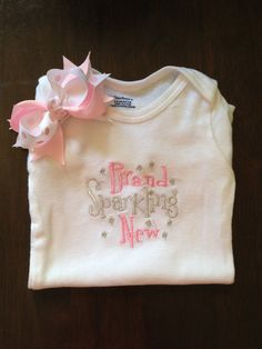 Brand Sparkling New Baby