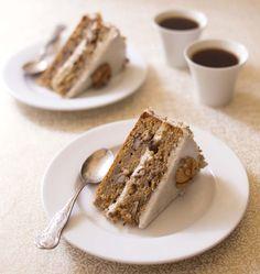 Carrot cake aux raisins et noix - Ôdélices : Recettes de cuisine faciles et originales !