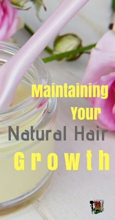 Did you know your hair is actually growing every single day? The problem you are having isn't that your hair is not growing it is learning how to maintain your natural hair growth. Heres what you are doing wrong.