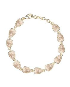 Susanna Link Bracelet in Rose Quartz