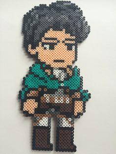 Levi - Attack on Titan Perler Beads by AnimebyIvy