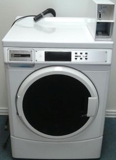 Happy Friday! Need a commercial coin-op washing machine? We have 1! Only $400.00. Have a great day!