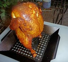 Beer Can Chicken on the Big Green Egg – You've Got To Taste This   MyRecipes.com