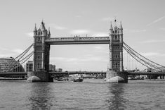This is a fine art print of Tower Bridge, London, England, Uk. This image was taken by Marie-Eve Painchaud. England Uk, London England, New London, Professional Photography, Unique Photo, Tower Bridge, Eve, Fine Art Prints, Black And White