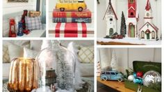 Deck the Halls our full Christmas Home Tour come on by to take a tour of our Christmas Decor at The Happy Housie