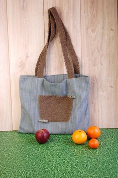 If you want to have an incredible tote, here it is. Unique designer's idea, strong materials, nice price! :)