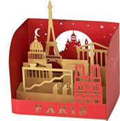 mini pop-up Monuments de Paris