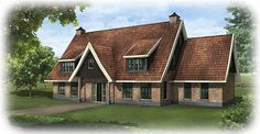 Nieuw te bouwen kangeroewoning te Haaksbergen Stables, House Plans, Exterior, Cabin, House Styles, Inspiration, Houses, Home Decor, Facades