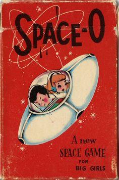 "vintage Space-O children's card game (apparently also known as ""Orbit"" ) Digital Art Illustration, Comics Illustration, Retro Illustrations, Space Games, Space Toys, Images Vintage, Vintage Posters, Vintage Designs, Vintage Games"