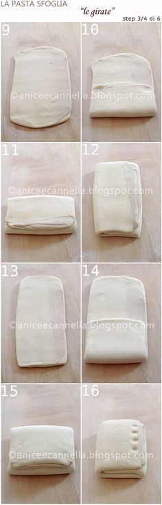 pasta sfoglia step by step 3.4.6 Anice e Cannella
