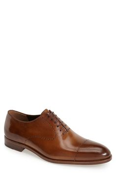 Fratelli Rossetti Cap Toe Wholecut Oxford (Men) available at #Nordstrom