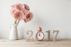 new year background photo 2017