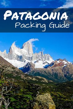 This Patagonia Packing List will help you to prepare for your outdoor adventure in one of the most stunning regions of South America. Backpacking South America, South America Travel, Packing Tips For Travel, Packing Lists, Europe Packing, Traveling Europe, Backpacking Europe, Travel Hacks, Travel Essentials