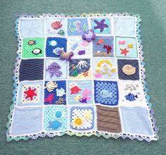 Thanks to everyone who contributed Squares for this Blanket. | Flickr: Intercambio de fotos