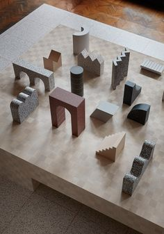 Note Design Studio champions closed-loop sustainability with Formations installation in Milan Ppt Design, Design Blog, Note Design Studio, Notes Design, Model Tree, Landscape Model, Sculptures Céramiques, Arch Model, 3d Prints