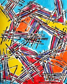 "Linofiori on Instagram: ""ALPHANTOM Acrylics on paper 50*65cm . . . . . . . . . . . . . #astratto #pitturacontemporanea #pittore #denbosch #zuidholland #kunstwerk…"" Abstract Expressionism, Acrylics, 50th, Paper, Instagram, Acrylic Nails, Acrylic Nail Designs"